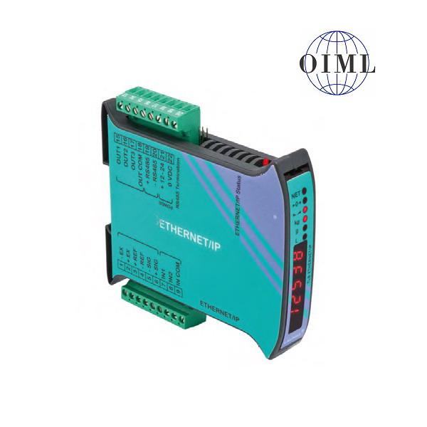 LAUMAS TLB-ETHERNETIP, IP-54, plast, LED (Vážní indikátor TLB s komunikačním rozhranním ETHERNET IP, RS485, 3 výstupy, 2 vstupy)