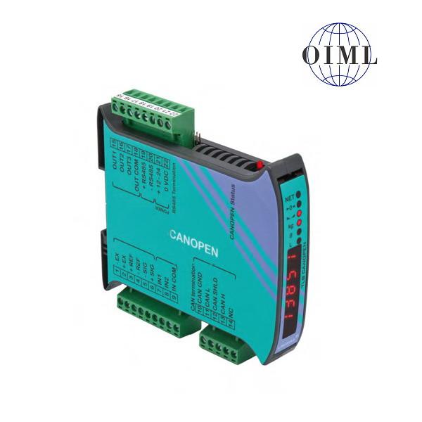 LAUMAS TLB-CANOPEN, IP-54, plast, LED (Vážní indikátor s komunikačním rozhranním CANOPEN, RS485, 3 výstupy, 2 vstupy)