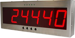 SENSOCAR REP/100, IP-65, nerez, LED (Přídavný displej nejen pro indikátory SENSOCAR)