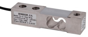 SENSOCAR TA-0, 50kg, IP-67, nerez (Tenzometrický střihový snímač pro rohové zatížení SENSOCAR model TA-0)