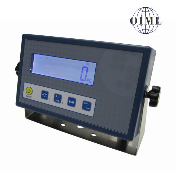 SENSOCAR SC-A1-CRT P, IP-54/IP-65, plast, LCD (Vážní indikátor pro dva vážicí moduly)