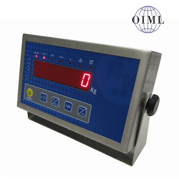 SENSOCAR SC-A1-CRT I, IP-65, nerez, LED (Vážní indikátor pro dva vážicí moduly, SC-A1)