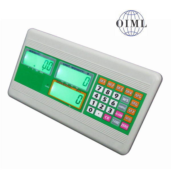 KINGSHIP AEC, IP-54, plast, LCD (Vážní indikátor pro obchodní vážení a počítání kusů)