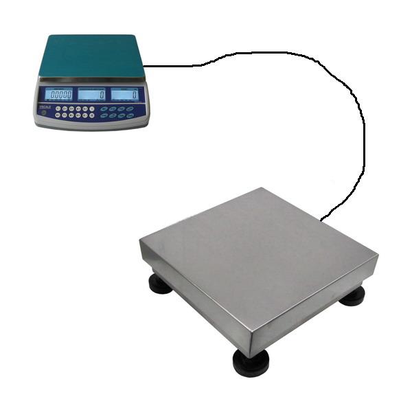 LESAK 1T3040LN150QHD15PLUS, 15kg/150kg, 300mmx400mm (Sestava pro počítání a vážení kusů s velkou přesností)