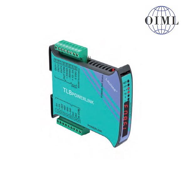 LAUMAS TLB-POWERLINK, IP-54, plast, LED (Vážní indikátor TLB s komunikačním rozhranním POWERLINK, 3 výstupy, 2 vstupy)