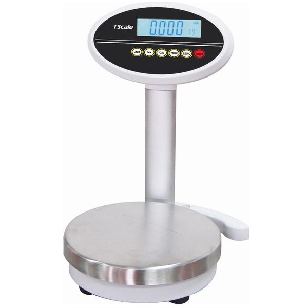 TSCALE ROW++15k, 15kg/0,1g, miska pr. 232mm (Velmi přesná váha pro míchání barev )