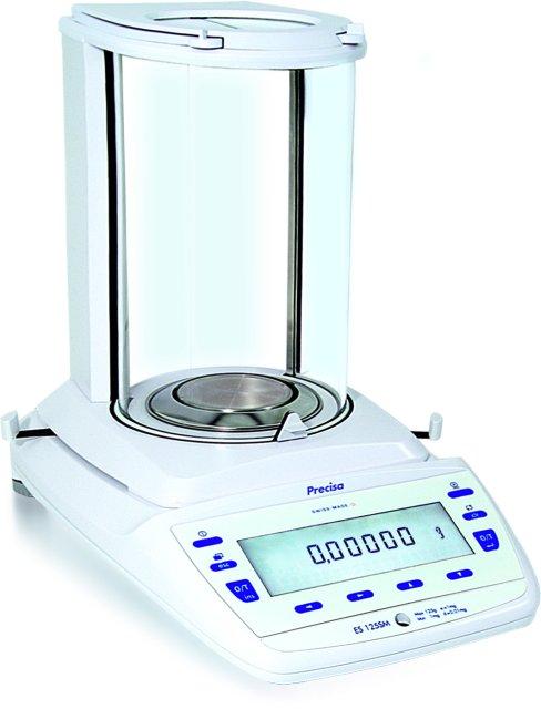 PRECISA ES 120A, 120g/0,1mg, 90mm (Profesionální analytická váha s vnitřní - interní kalibrací)