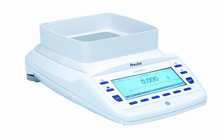 PRECISA EP 320M, 320g/0,001g, 135mmx135mm (Profesionální přesná váha s vnitřní - interní kalibrací)