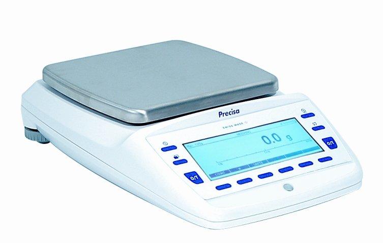 PRECISA EP 6200D, 6200g/0,1g, 200mmx200mm (Profesionální přesná váha s vnitřní - interní kalibrací)