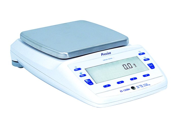 PRECISA ES 6200D, 6200g/0,1g, 200mmx200mm (Profesionální přesná váha s vnitřní - interní kalibrací)