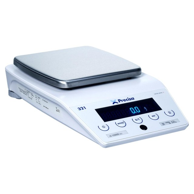 PRECISA LS 3200D, 3200g/0,1g, 200mmx200mm (Profesionální přesná váha s vnitřní - interní kalibrací)