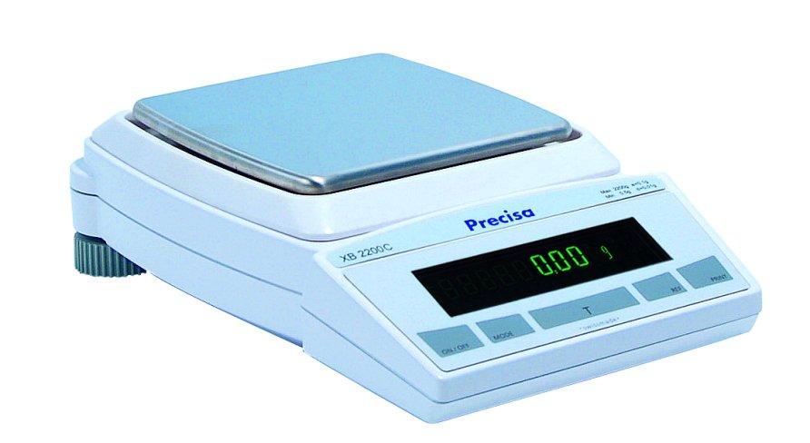 PRECISA XB 2200C, 2200g/0,01g, 170mmx170mm (Profesionální přesná váha)