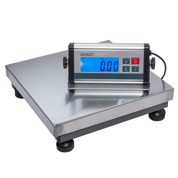 LESAK KDAEC-3030, 30kg/10g, 300mmx300mm (Balíková váha pro vážení nejen balíků, ale i jiná kontrolní vážení)