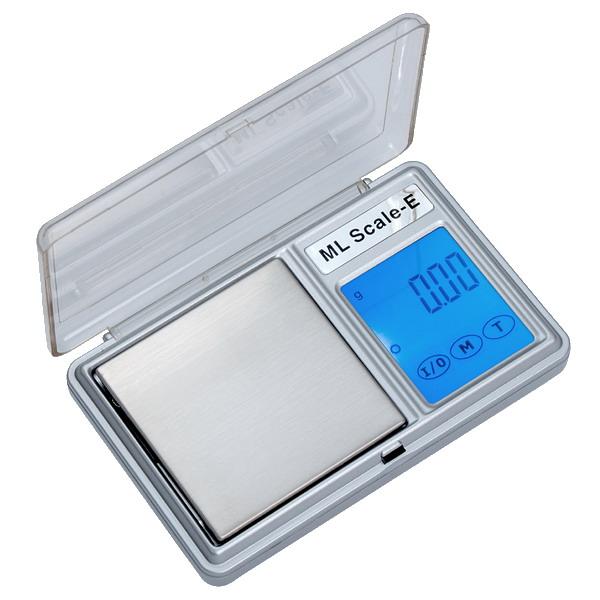 LESAK HD-03, 200g/0,01g, 53mmx53mm (Levná kapesní váha pro přesné vážení, dotykový displej, vhodná i pro diabetiky)