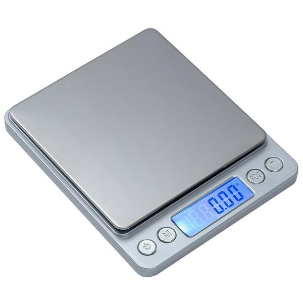 LESAK P221, 500g/0,01g, 100mmx100mm (Levná kapesní váha pro přesné vážení, vhodná i pro diabetiky)