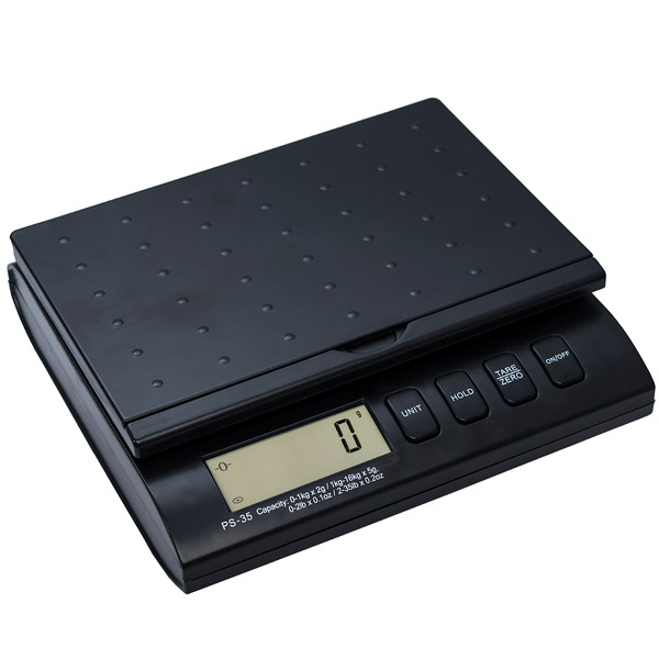 LESAK PS-35, 1kg;16kg/2g;5g, 226mmx156mm (Poštovní váha pro vážení listovních zásilek a balíků)