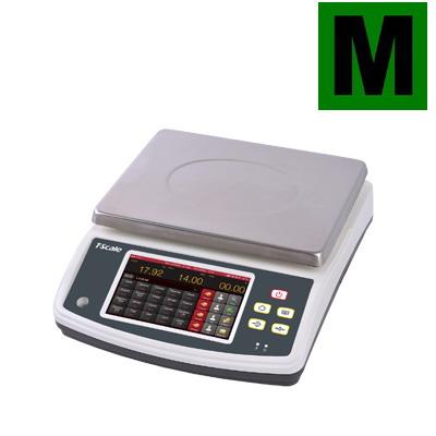 """TSCALE Q7-10, 6;15kg/2;5g, 230mmx300mm (Pultová váha TSCALE Q7-10 inteligentní obchodní váha s dotykovým displejem 7"""")"""