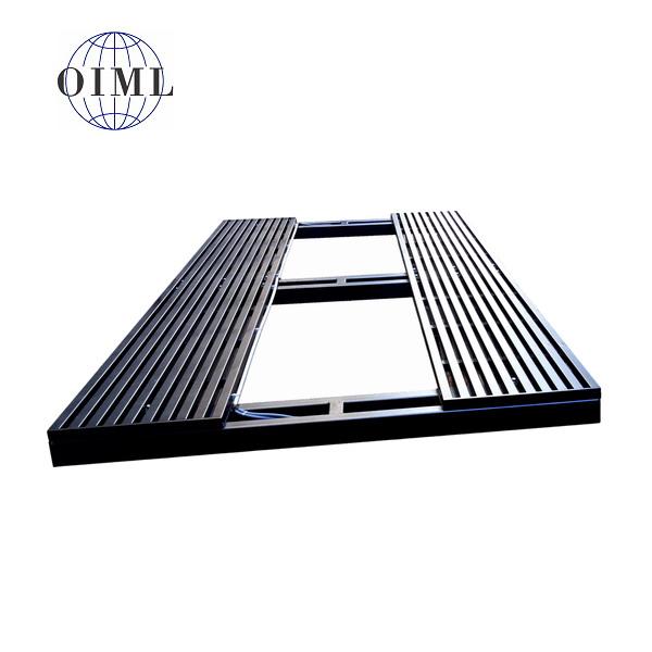 LESAK MAV2040JL, 3t/1kg, 2mx4m (Podlahová vážní plošina pro vážení autovraků)