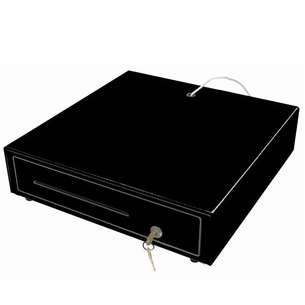 Zásuvka pokladní 12/24V černá CWY2B (Pokladní zásuvka k POS systému ovládaná napětím 12V nebo 24V)