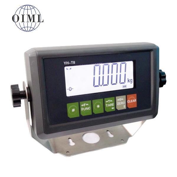YAOHUA T8, IP-54, plast, LCD (Vážní indikátor pro kontrolní vážení)
