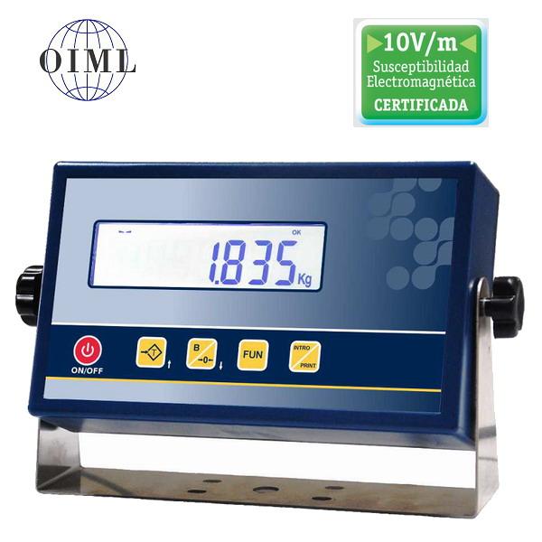 SENSOCAR SC-A1-P, IP-54, plast, LCD (Vážní indikátor pro obchodní vážení s novou certifikací EMC 10V/m)