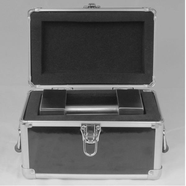 LESAK 5kg box na závaží - cihla (Přepravní box na závaží 5kg - cihla, materiál hliník)