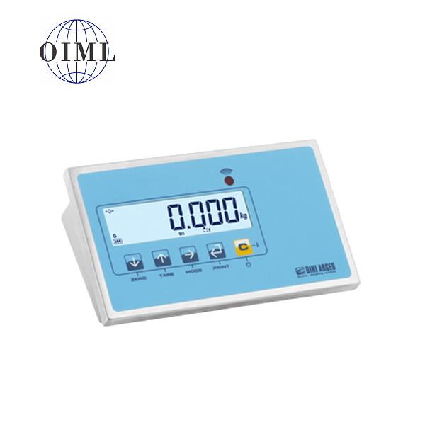 DINI ARGEO DFWLI, IP-68, nerez, LCD (Vážní indikátor certifikovaný dle normy EN45501/2015 pro obchodní vážení)