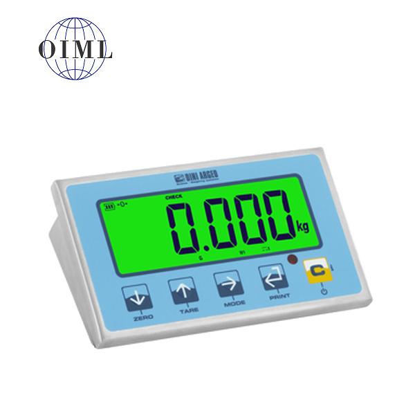 DINI ARGEO DFWLIP-1, IP-68, nerez, LCD  (Vážní indikátor certifikovaný dle normy EN45501/2015 pro obchodní vážení)