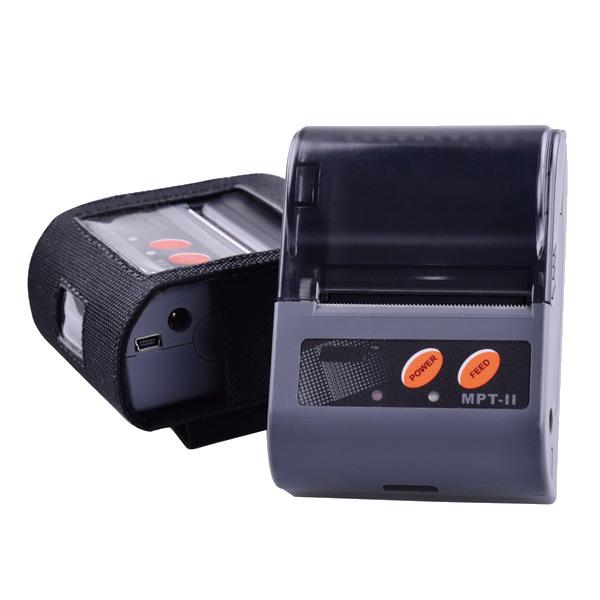 LESAK MPT2, mobilní bateriová pokladní tiskárna (Mobilní pokladní tiskárna účtenek s komunikací Bluetooth, USB a RS232)