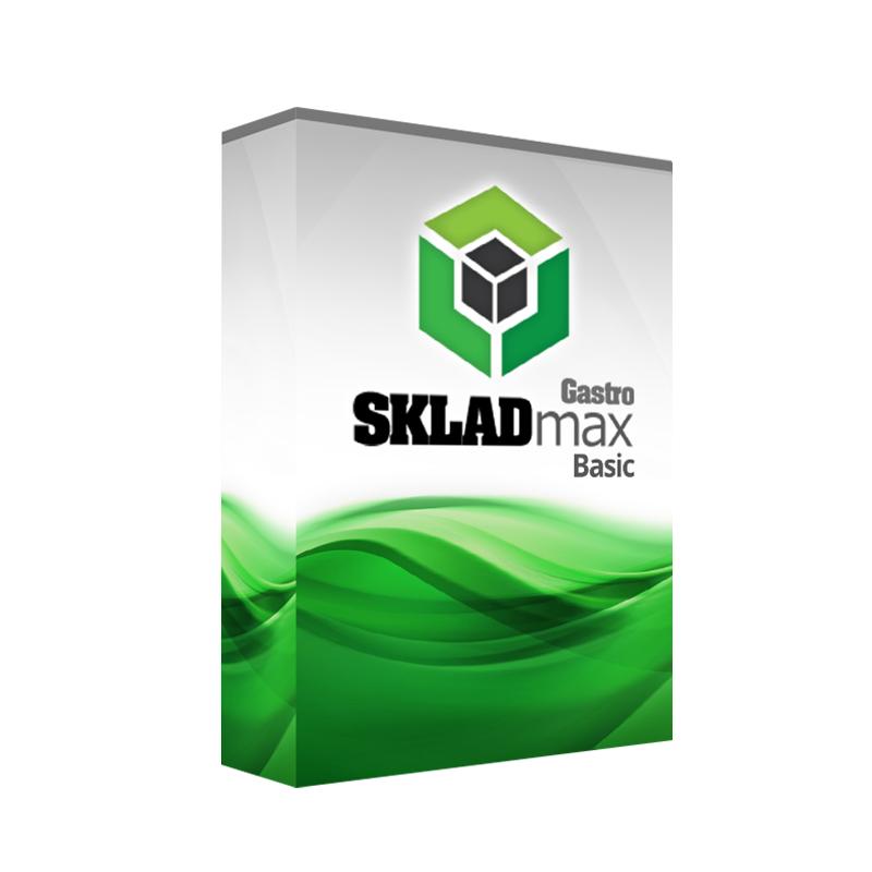 AMAX SKLADMAX GASTRO BASIC (Rozšiřující pokladní aplikace KASAMAX GASTRO o skladovou evidenci)