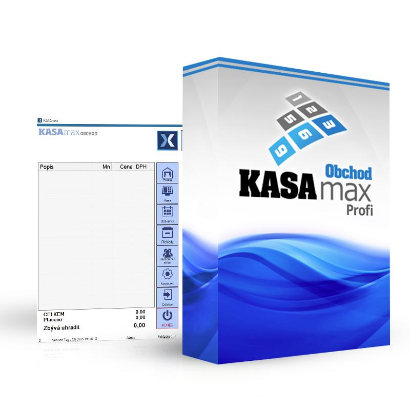 AMAX KASAMAX OBCHOD PROFI (Profesionální verze pokladní aplikace KASAMAX)