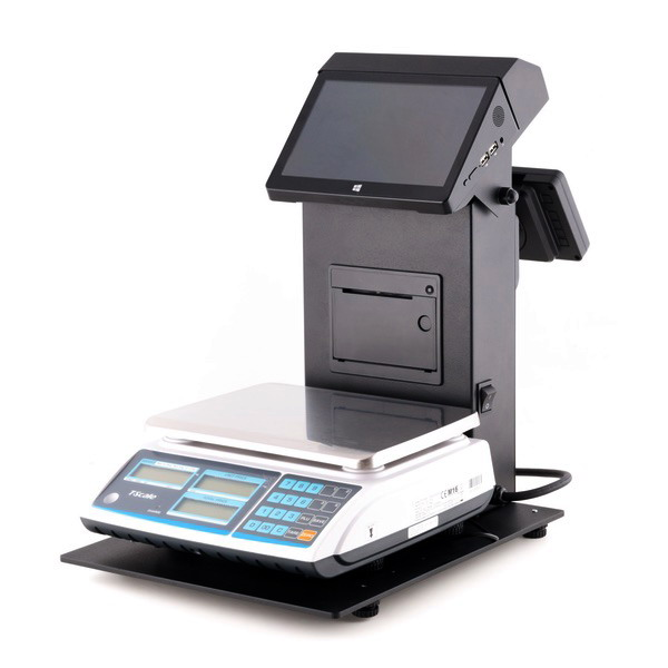 LESAK VAPOS 9, váhopokladna (Pokladní systém VAPOS9 s obchodní váhou)