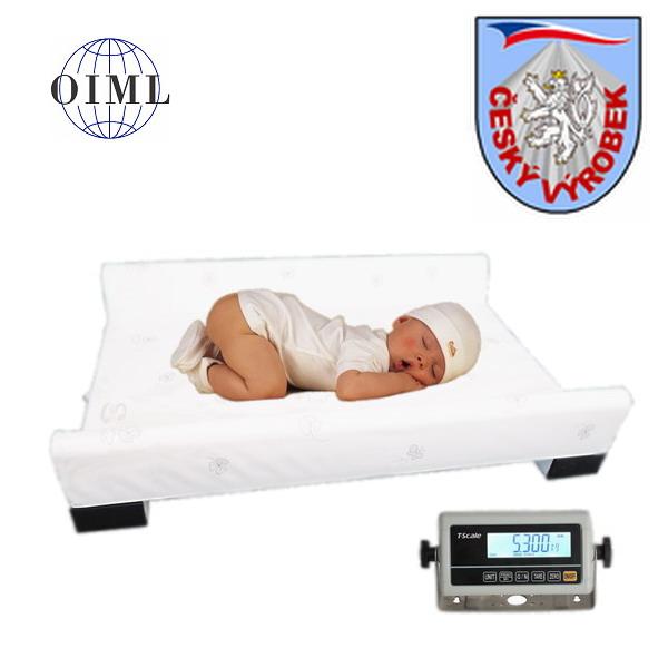 LESAK 4TKVPP15, 15kg/5g, 700mm x 500mm (Kojenecká váha - přebalovací podložka pro kojence)