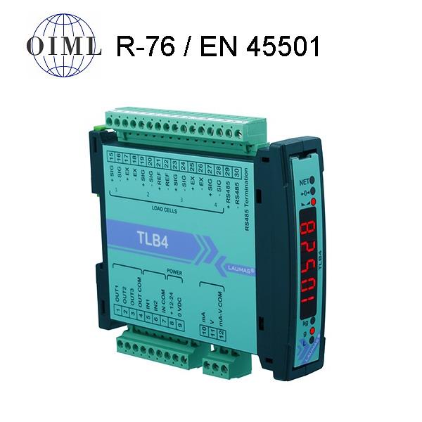 LAUMAS TLB4, IP-54, plast, LED (Vážní indikátor osazen 3x relé výstupy, 2x logické vstupy)