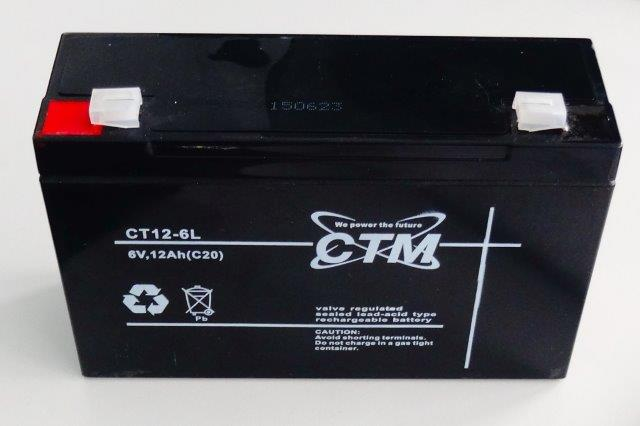 LESAK FUBAK6V12AH (Náhrádní díl baterie k váze.)