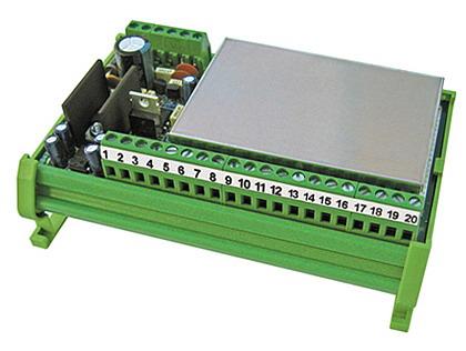 LAUMAS TPS, analogový výstup 0-20mA, 4-20mA, 0-10V (Proudový a napěťový výstup 0-20mA, 4-20mA, 0-10V pro 4 snímače)