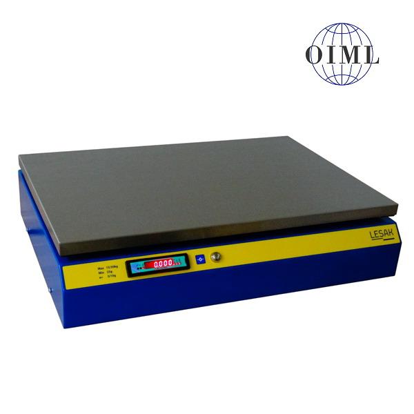LESAK 1T4060LNPB-DR, 15;30kg/5;10g, 400mmx600mm (Kompaktní stolní obchodní váha s dvojím rozsahem a USB portem)