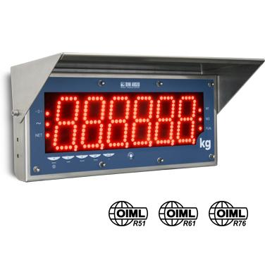 DINI ARGEO DGT100R-1 PŘÍDAVNÝ DISPLEJ (Přídavný displej pro vážní indikátory DINI ARGEO velikosti čísel 100mm)