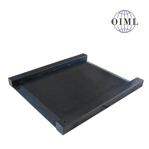LESAK 4TUVN1013L, do 600kg, 1000mmx1300mm, lak (Nájezdová snížená váha s vestavěnými nájezdy bez indikátoru)