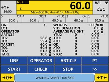 DINI ARGEO AF04GT program pro kontrolu hotově baleného zboží (Program pro indikátory řady 3590E - kontrola hově baleného zboží)