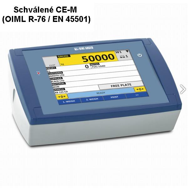 """DINI ARGEO 3590ET8 """"TOUCH"""": dotykový LCD 8"""", plast (3590ET8 """"TOUCH"""": 8 """"Indikátor hmotnosti s dotykovou obrazovkou pro průmyslové aplikace )"""