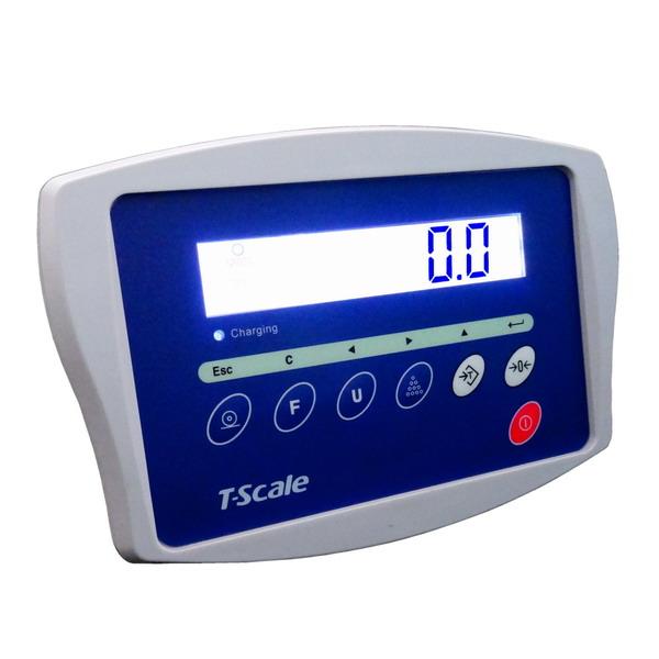 TSCALE KW, IP-54, plast, LCD (Vážní indikátor pro kontrolní vážení)