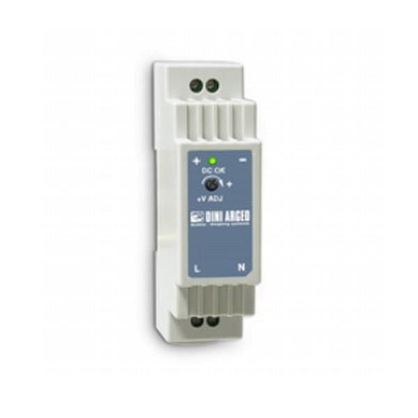 DINI ARGEO DR1512, zdroj 12VDC na DIN lištu (Zdroj 110/230VAC/12VDC na DIN lištu)