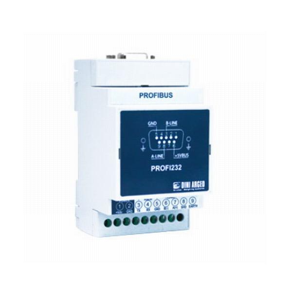 """DINI ARGEO  """"PROFI232"""" VNĚJŠÍ PROFIBUSOVÉ ROZHRANÍ (Externí rozhraní, které umožňuje připojení indikátorů hmotnosti CPWE a 3590E k sítím Profibus)"""