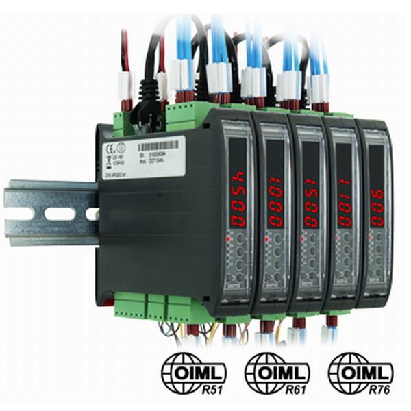 DINI ARGEO - DGT1S, indikátor hmotnosti s RS232/485, 2xOUT, 2xIN (Indikátor hmotnosti DINI ARGEO pro průmyslové aplikace, DIN lištu, RS232/485, 2x vstup, 2x výstup)