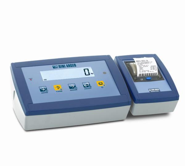 DINI ARGEO DFWPXP, IP-65, plast, LCD  (Vážní indikátor certifikovaný dle normy EN45501/2015 pro obchodní vážení)