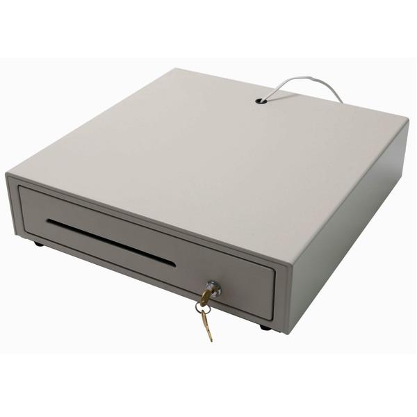 Zásuvka pokladní 12/24V světlá CWY2 (Pokladní zásuvka k POS systému ovládaná napětím 12V nebo 24V)