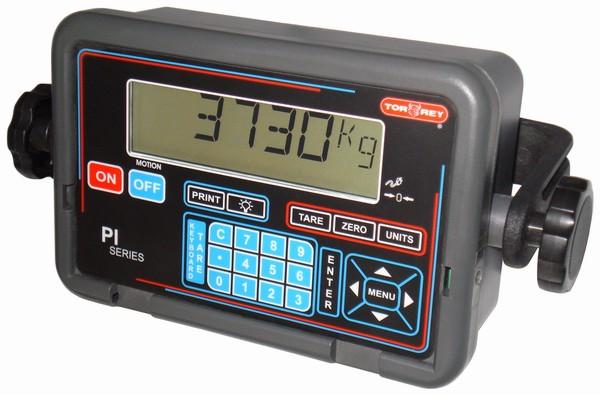 TORREY PI, IP-54, plast, LCD (Vážní indikátor s numerickou klávesnicí pro obchodní vážení)