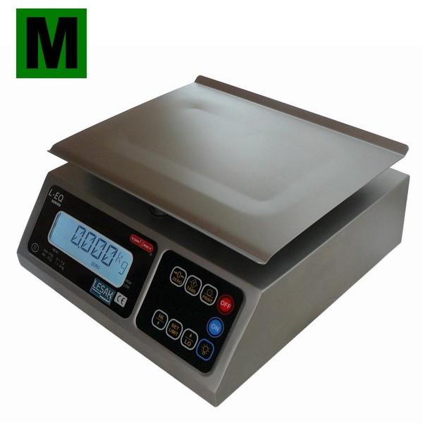 TORREY LEQ-4M, 4kg/1g, 245mmx190mm (Nerezová gastro váha pro kuchyně, výrobny a sklady)