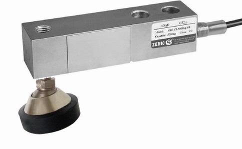 ZEMIC H8C, 0,5t, IP-67, ocel (Tenzometrický střihový snímač pro rohové zatížení ZEMIC model H8C s nožkou)